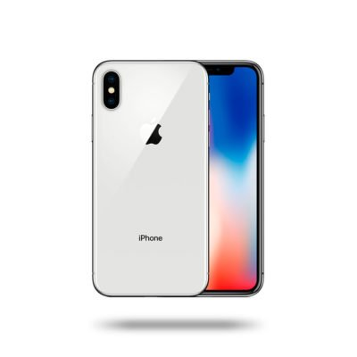 Apple iPhone X - Silver, 256 GB, LL